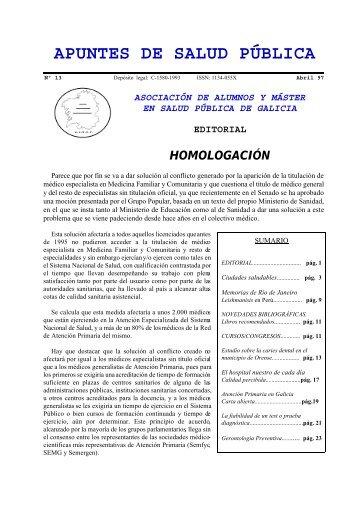 Nº 13 Abril 1997 - Índice de webs - Universidade de Vigo
