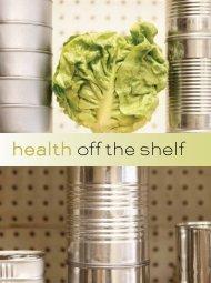 health off the shelf - Anna Dubrovsky