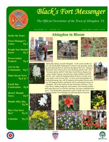 Main Street News - Town of Abingdon