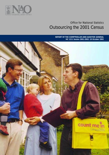 Outsourcing the 2001 Census - Office for National Statistics