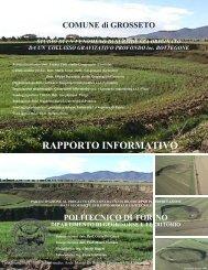 G1 bis Integrazione alla Relazione - Comune di Grosseto