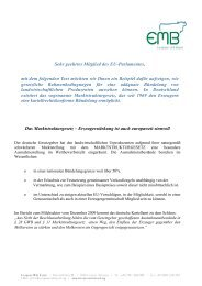 Marktstrukturgesetz - European Milk Board