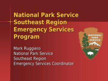National Park Service Southeast Region Emergency Services ...