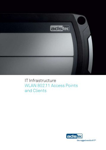 IT Infrastructure WLAN 802.11 Access Points and Clients - ads-tec