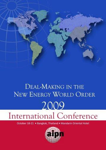 international Conference - AIPN