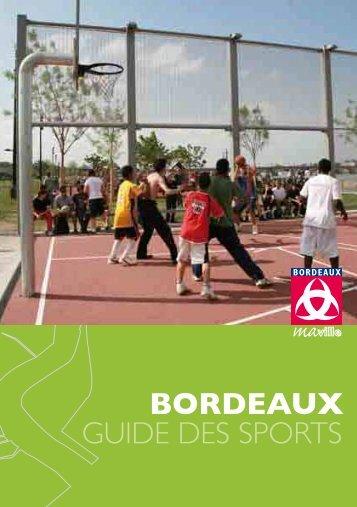 Guide des sports - Novembre 2010 - Bordeaux