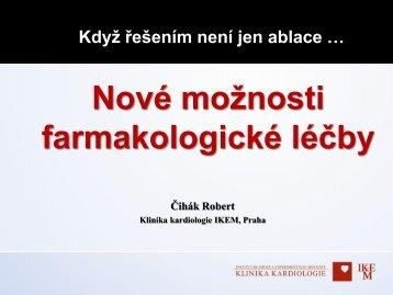 Farmakologická léčba fibrilace síní - IKEM Klinika kardiologie