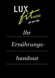 Handout gesamt - Luxfit – fit for life