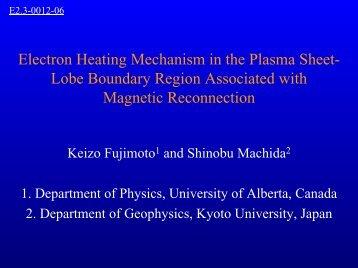 Electron heating mechanism in the plasma sheet-lobe boundary ...