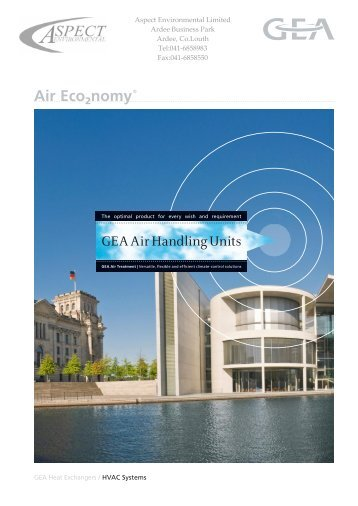 GEA Air Handling Units - Aspectenvironmental.com