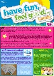 May Newsletter - havefunfeelgoodleeds.co.uk