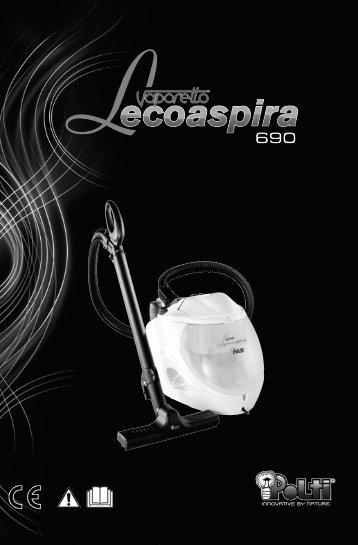 LECOASPIRA 690 M0S09081 1P12:Layout 1.qxd - Polti