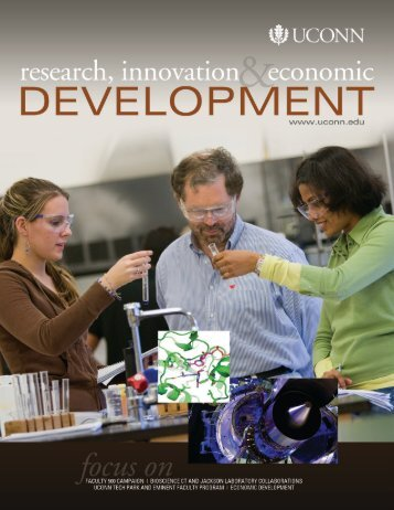 Research, Innovation, & Economic Development - University of ...