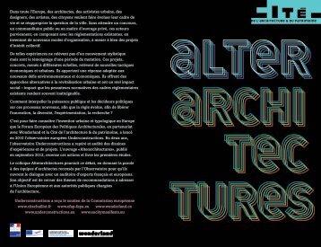 Dans toute l'Europe, des architectes, des activistes ... - Cityförster