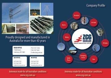 ZCG Scalar Company Profile