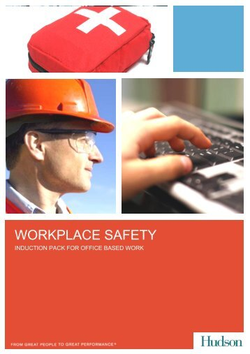 Workplace Safety Induction pack - Hudson