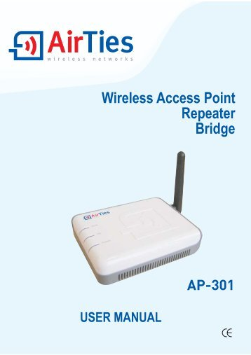 Wireless Access Point Repeater Bridge - AirTies  Wireless Networks