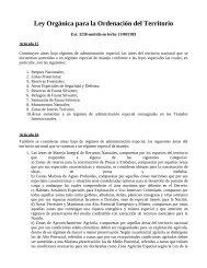 Ley Orgánica para la Ordenación del Territorio