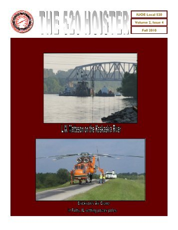 Vol 2 Iss 4 4th qtr 10.pub - Operating Engineers Local 520