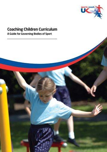 Coaching Children Curriculum NEW:Layout 1