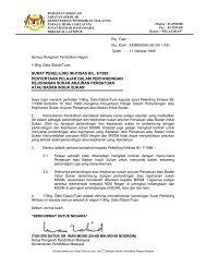 surat pekeliling ikhtisas bil. 8/1995 - Kementerian Pelajaran Malaysia