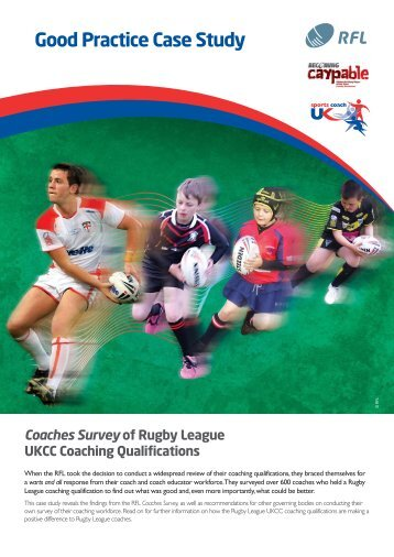 Coaches Survey of Rugby League UKCC ... - sports coach UK