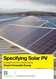 Specifying Solar PV - Solar Century
