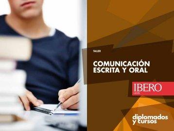 comunicación escrita y oral - Universidad Iberoamericana León