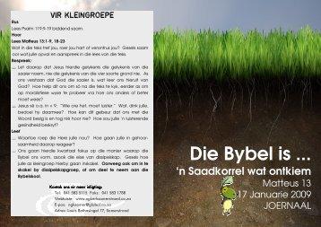Laai die dokument hier af. - NG Kerk Somerstrand