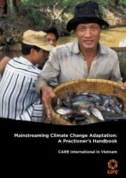 Mainstreaming Climate Change Adaptation: A Practioner's Handbook