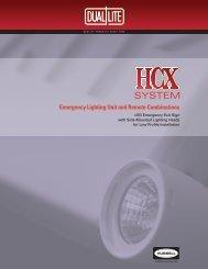 HCX Brochure - Dual-Lite