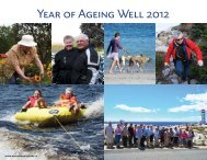 Year of Ageing Well 2012 - Community Links