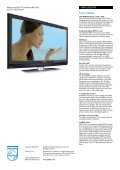 42PFL5522D/05 Philips widescreen flat TV with Pixel Plus HD - Page 3