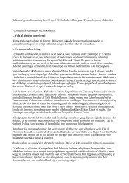 Referat af generalforsamling den 20. april 2013 afholdt i Østergades ...