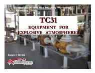 equipment for explosive atmospheres - OGP activities home