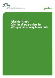 Islamic Funds - Collection of best practices for setting-up and ... - Alfi
