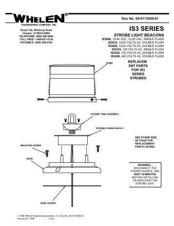 13059 is3 series strobe beacons whelen engineering?quality\\\\\\\=85 strobe light wiring harness strobe light control box \u2022 free wiring whelen strobe light wiring diagram at creativeand.co
