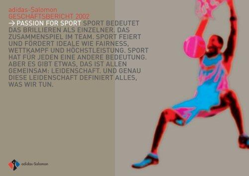 adidas-Salomon GESCHÄFTSBERICHT 2002 ... - adidas Group