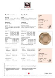 Artikel: RG Scheiben- Rückschlagventil PN 6-40 Edelstahl Stahl ...