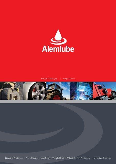 Master Catalogue I August 2011 - Alemlube