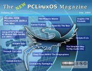 The New PCLinuxOS Magazine, July 2009 Edition - From: ibiblio.org