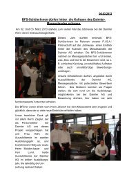 Daimler Jobmesse BFS hinter den Kulissen 2013 - Hanse-Schule