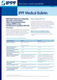 IPPF Medical Bulletin