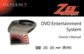 DVD Entertainment System - Rosen