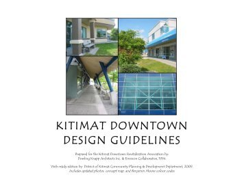 KITIMAT DOWNTOWN DESIGN GUIDELINES