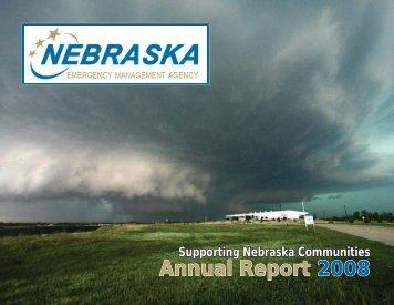 2008 Annual Report - Nebraska Emergency Management Agency ...