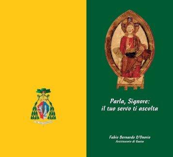 Parla, Signore: il tuo servo ti ascolta - Azione Cattolica Italiana ...