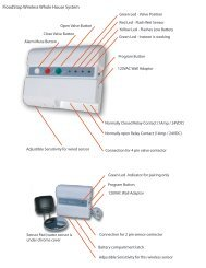 FloodStop Wireless Whole House System - Smarthome