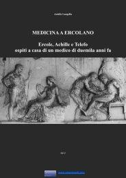 Medicina a Ercolano - Il bassorilievo di Achille e Telefo - Vesuvioweb