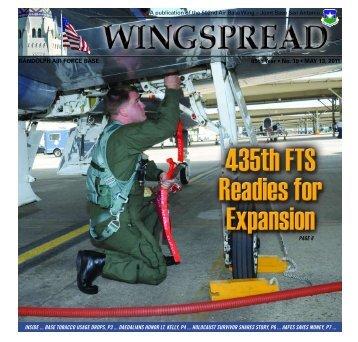 RANDOLPH AIR FORCE BASE 65th Year • No. 19 • MAY 13, 2011